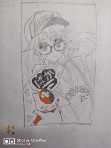 Autoritratto manga Monique Pasini (Grande)